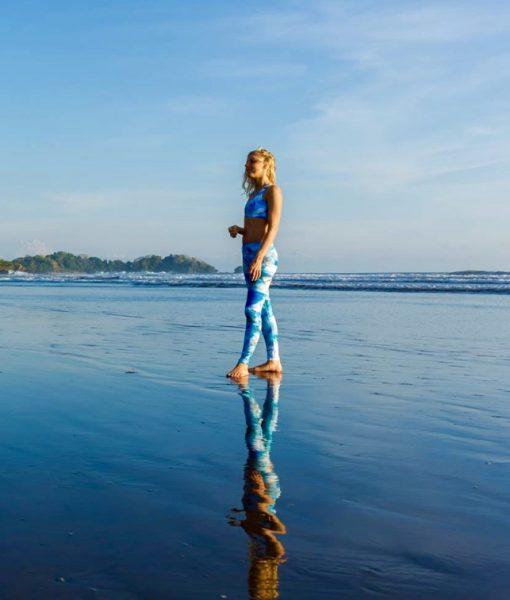 Monique Rotteveel Surf and Yoga Active Wear Long Leggings Yogapants Surfleggings