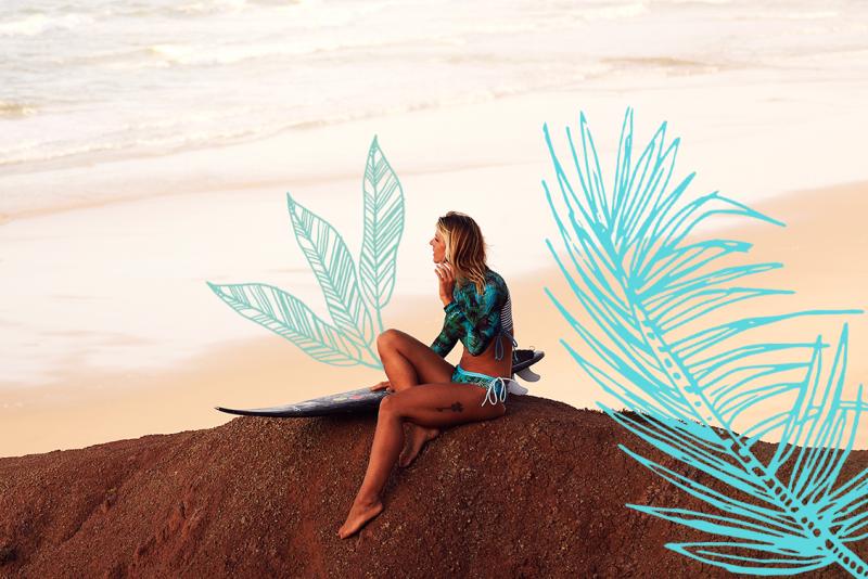 Mayla Kind Monique Rotteveel Surfgirl Rashguard