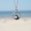 Wave necklace at aloha silver wave jewellery