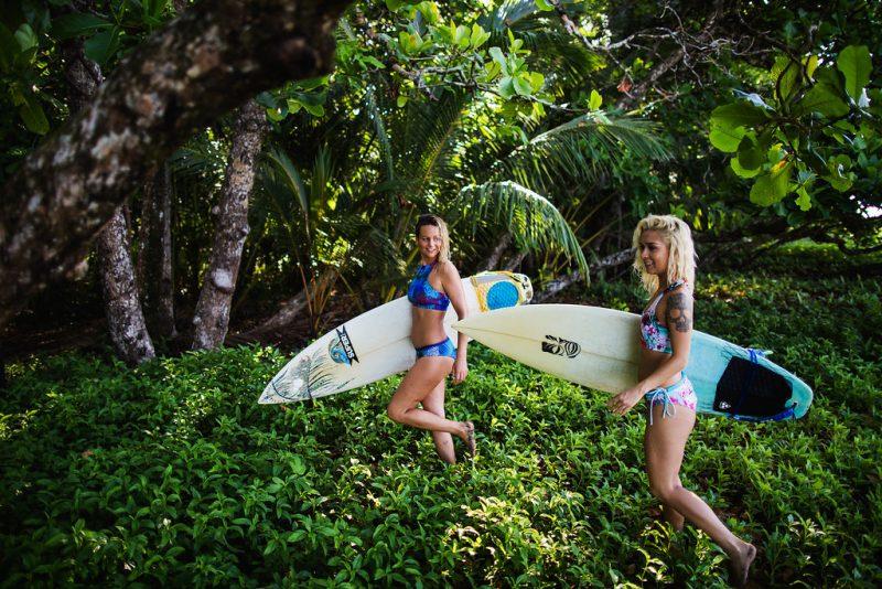 Monique Rotteveel Surf Yoga Surfbikini