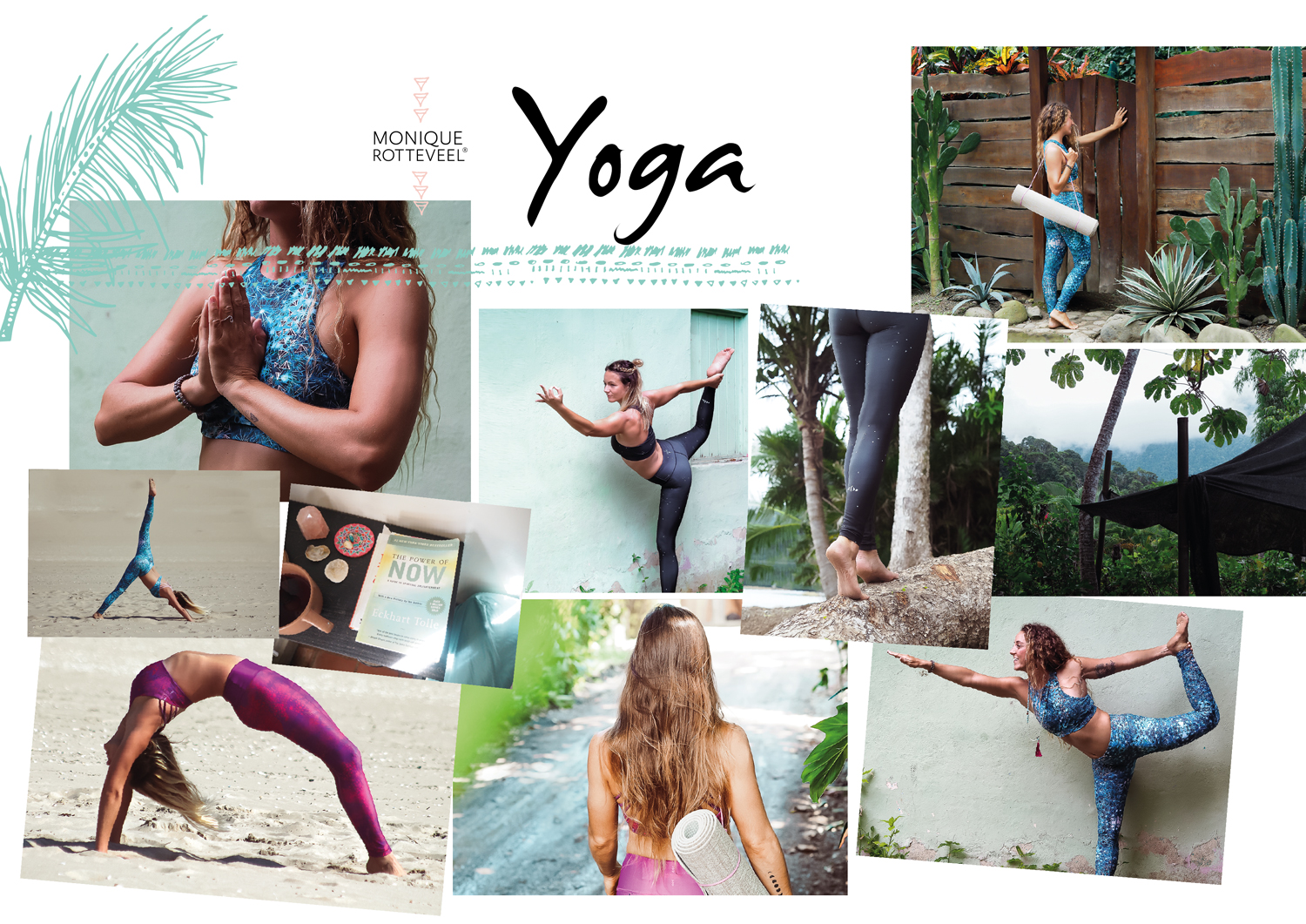 yoga recycled yogawear eco friendly monique rotteveel