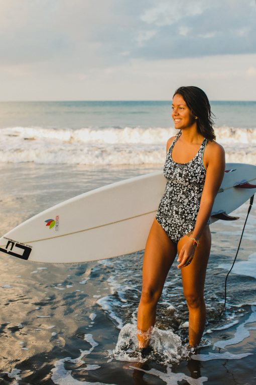 Sustainable Surf & Yoga Wear recycled plastic bottles surfbikini yogawear