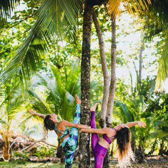 Sustainable Surf & Yoga Wear recycled plastic bottles surfbikini yogawear