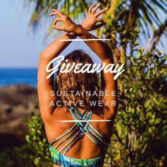 Giveaway Monique Rotteveel Sustainable Active Wear Surfgirl Yogagirl Yogawear Surfbikini Sustainable