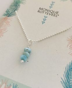 Monique Rotteveel | Larimar Silver Jewelry