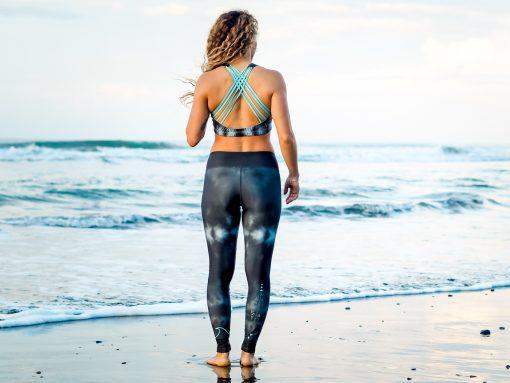Monique Rotteveel ~ Sustainable Active Wear | Black Tie Dye