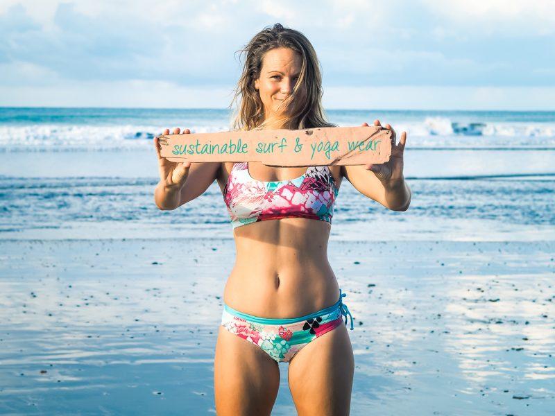 MONIQUE ROTTEVEEL SUSTAINABLE SURFBIKINIS AND YOGA WEAR