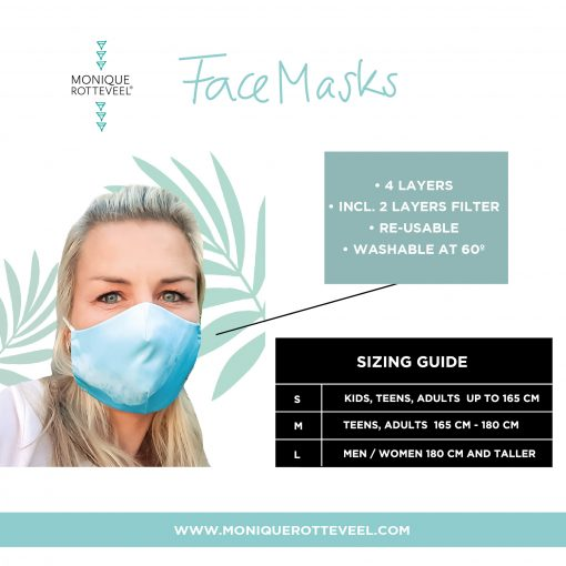 FACEMASKS BY MONIQUE ROTTEVEEL