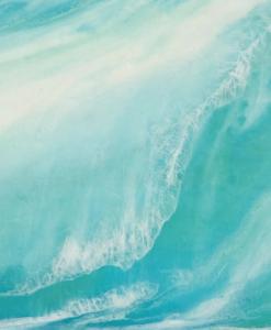 Ocean Flow Artwork by Monique