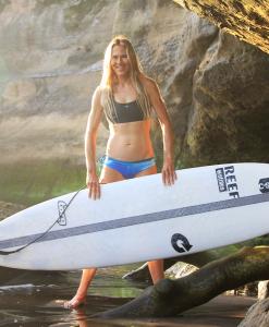 Surfbikini Martine Geijsels