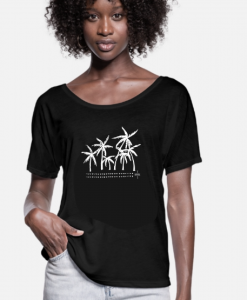 Tee Palmtrees Monique Rotteveel